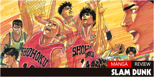 slam dunk review manga