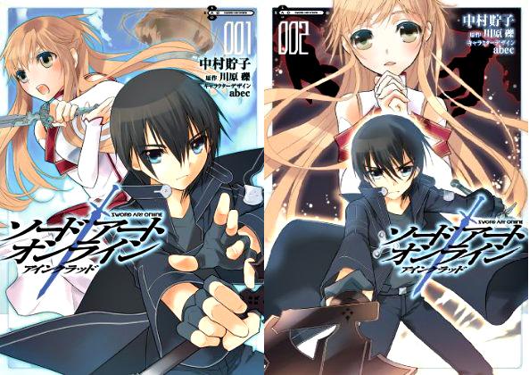 Capas SAO Manga