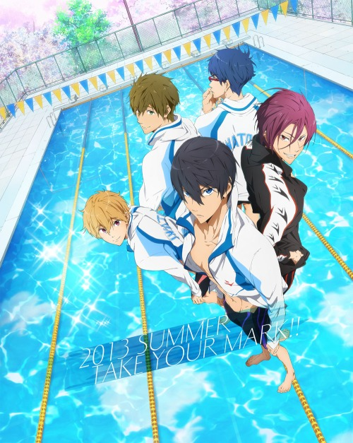 swimming anime free