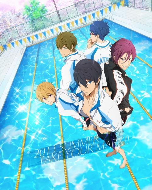 swimming anime free