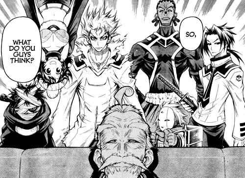 Medaka Box Manga Review (4)