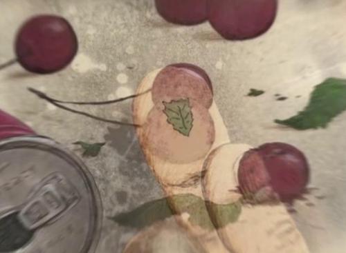 Efeito das diferentes camadas de colorização usadas pelo animador em Atamayama.