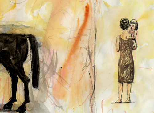 Do lápis à esponja: os diferentes estilos de ilustração de Muybridge's Strings.