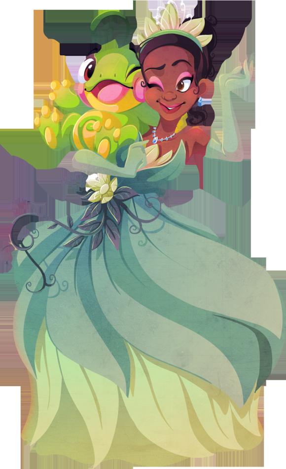 Princess Tiana & Politoad