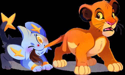 Simba & Shinx