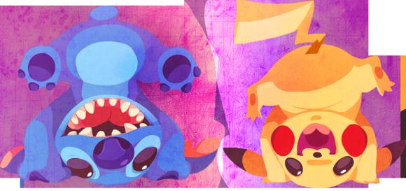 Stich & Pikachu