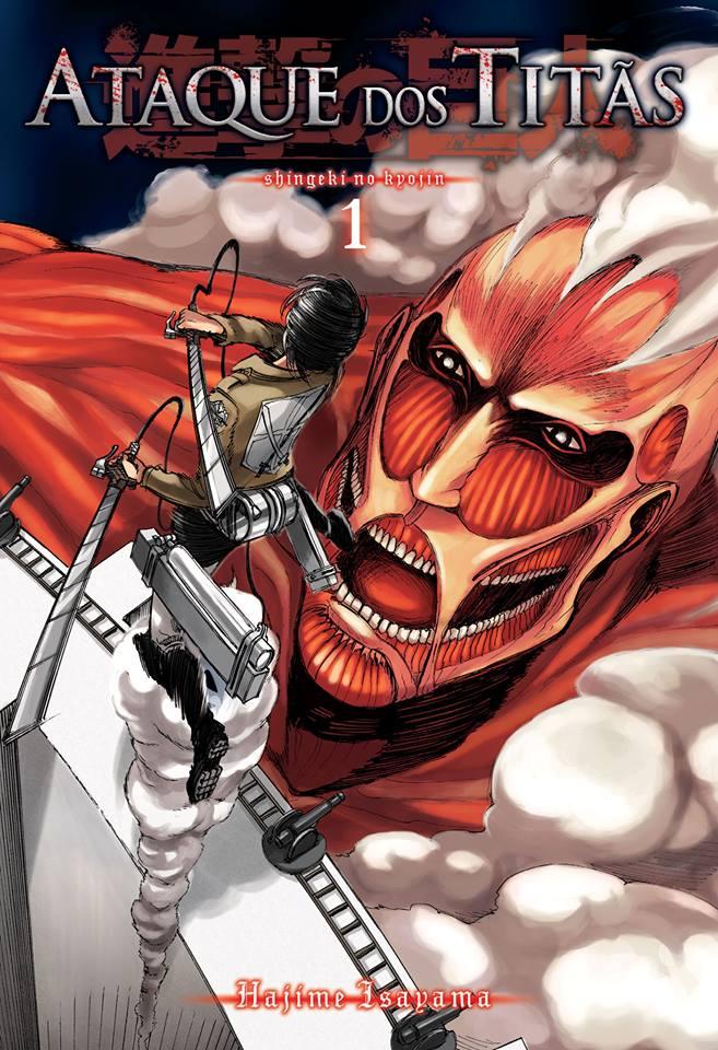 Ataque dos Titãs Capa Volume 1