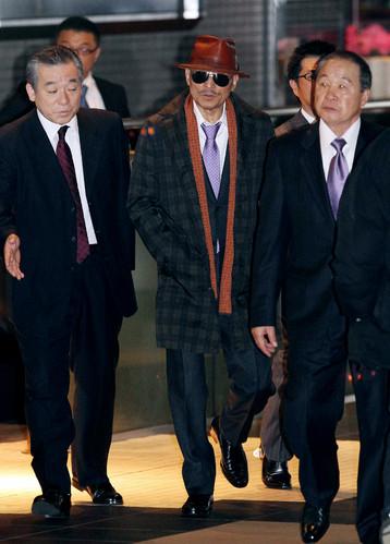 Susumu Kajiyama, o Imperador da Agiotagem, figura que simboliza os novos yakuzas corporativos.