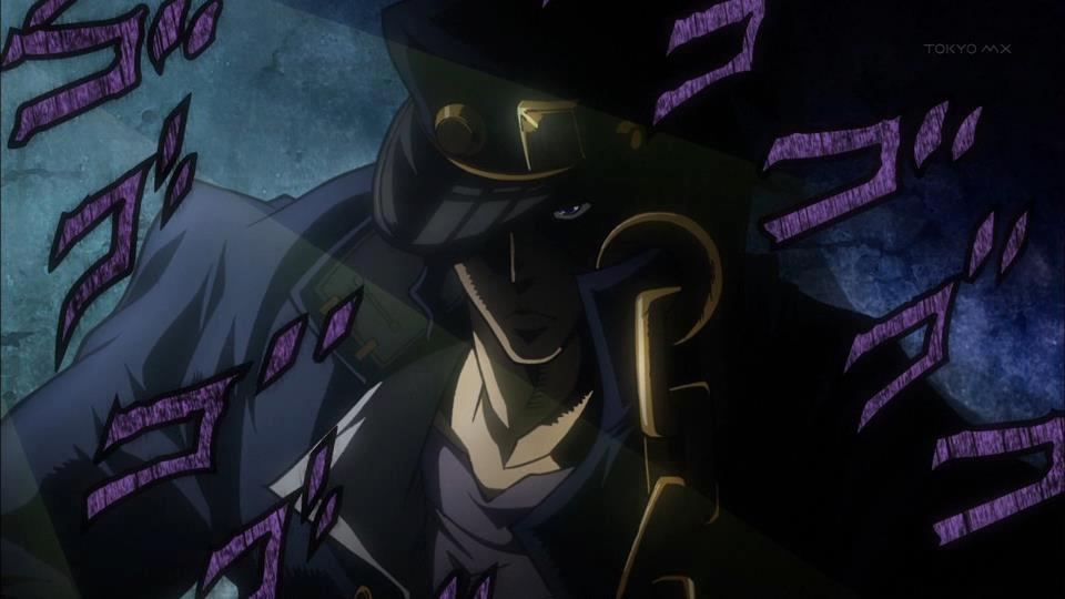 JoJo Stardust Crusaders Anime