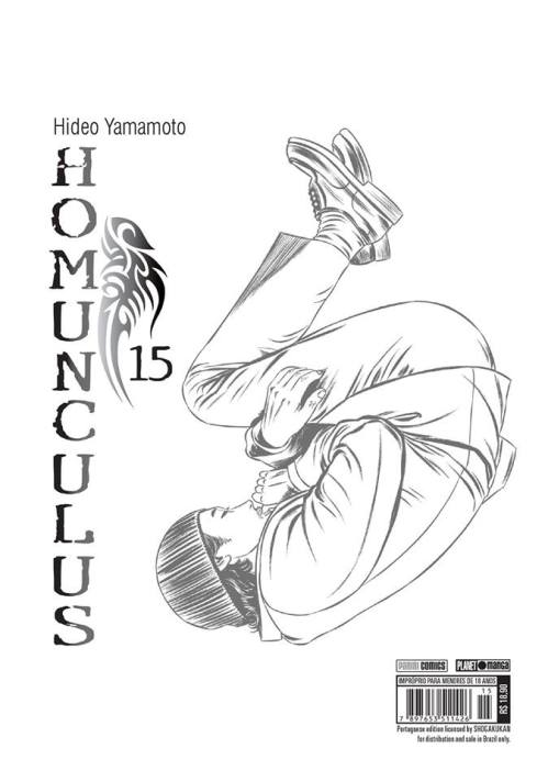 Último volume de Homunculus já se encontra à venda Homunculus-15