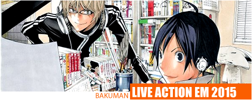 Bakuman ganha filme live-action no Japão em 2015 Bakuman-header