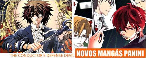 The Conductor e Defense Devil, novos mangás da editora Panini Defense-header