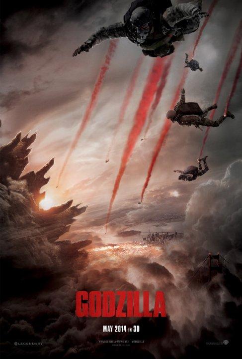 Godzilla 2014 Poster (1)