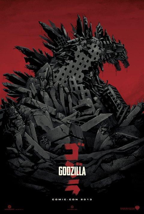 Godzilla 2014 Poster (2)