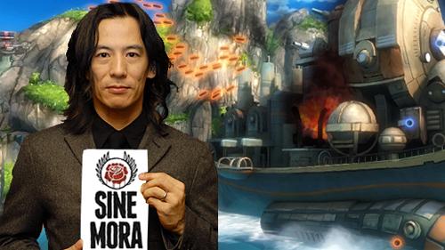 Mahiro Maeda, designer mecânico responsável pro projetar as armas do anime.
