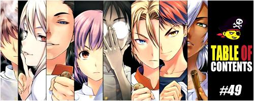 Shokugeki no Soma Header TOC Anime Jump