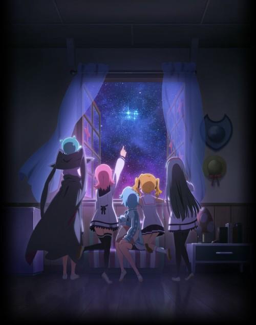 Gainax e Subaru revelam novo visual do anime Houkago no Pleiades Houkagu-no-pleiades