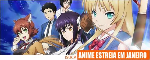 TV anime de ISUCA estreia Janeiro no Japão Isuka-anime