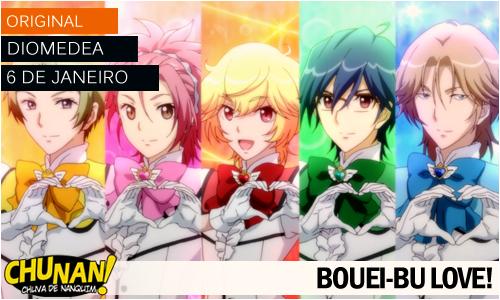 Animes da temporada de Janeiro 2015! Bouei-bu-love