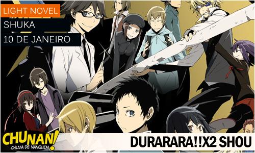Animes da temporada de Janeiro 2015! Durarara-x2-shou