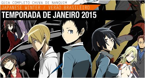 Animes da temporada de Janeiro 2015! Header1