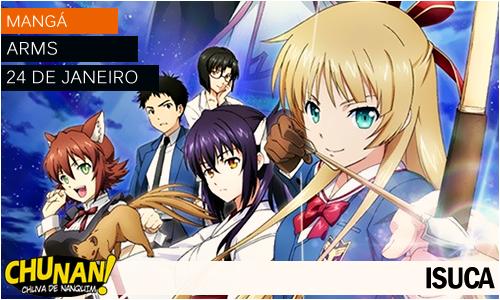 Animes da temporada de Janeiro 2015! Isuca