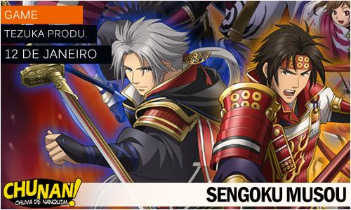 Animes da temporada de Janeiro 2015! Sengoku-musou