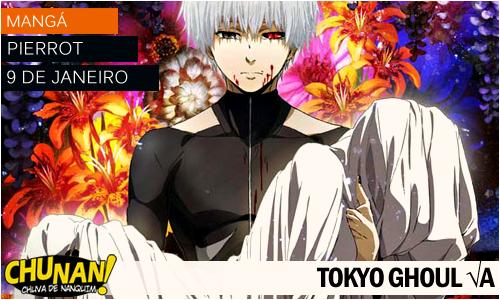 Animes da temporada de Janeiro 2015! Tokyo-ghoul