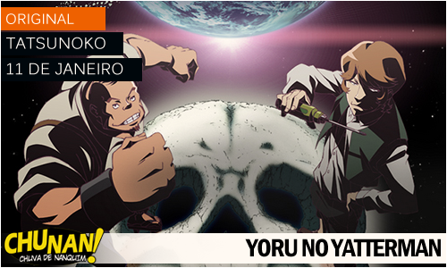Animes da temporada de Janeiro 2015! Yoru-nno-yatterman