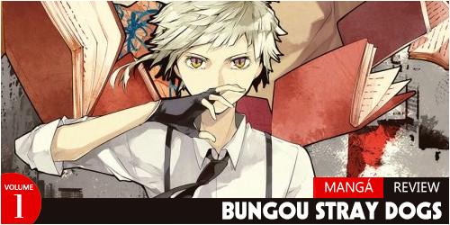 bungou stray dogs manga review volume 1