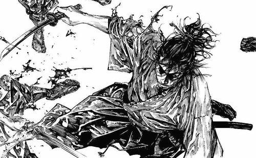 Vagabond Manga (2)