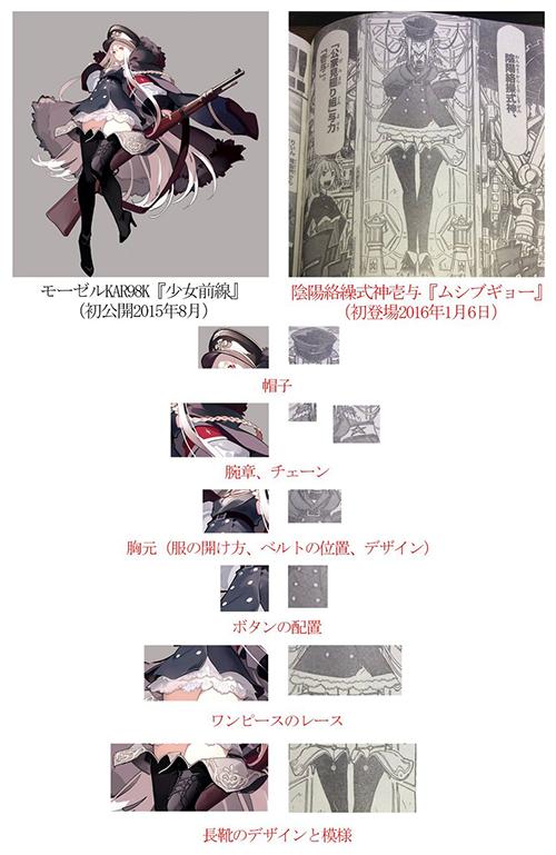 Mushibugyo - comparação