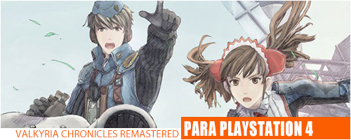 Notícias - Valkyria Chronicles PS4 Header