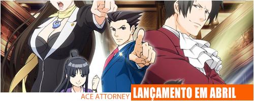 Notícias - Ace Attorney Header