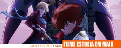 Notícias - Garo Divine Flame Header