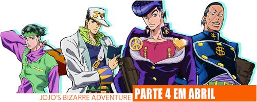 Notícias - JoJo's Bizarre Adventure 4 Header