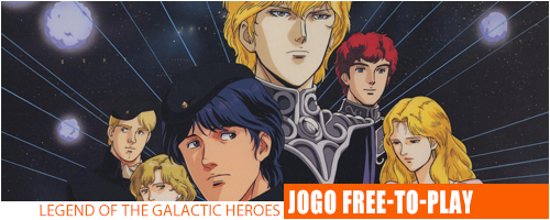 Notícias - Legends of The Galactic Heroes Header