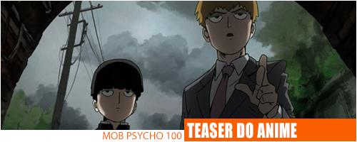 Notícias - Mob Psycho100 Header