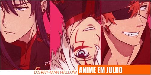Notícias-D.Gray-man Hallow-Header