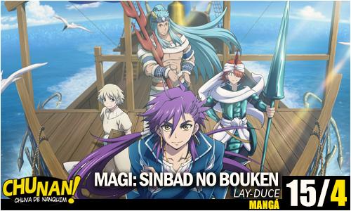 Magi Sinbad no Bouken