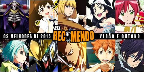 melhores verão outono 2015 animes