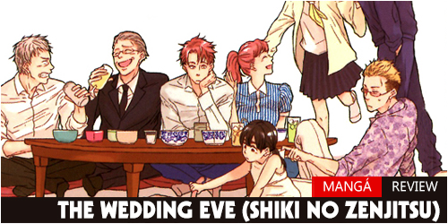 Review - The Wedding Eve (Shiki no Zenjitsu) Mangá Header