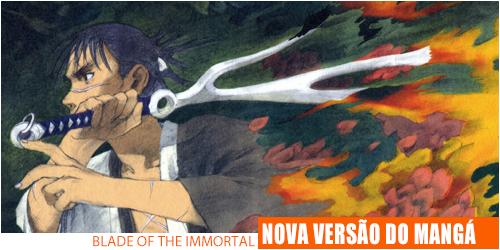Blade of the immortal nova edição luxo