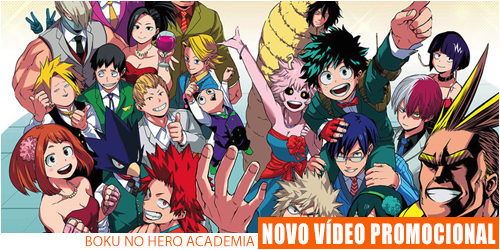 video promocional boku no hero