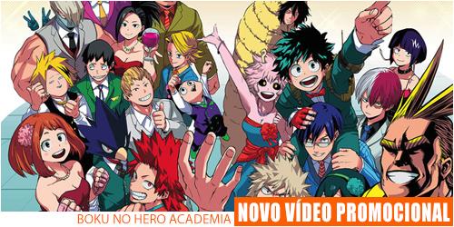 video promocional boku no hero